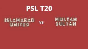 Today match prediction Multan vs Islamabad